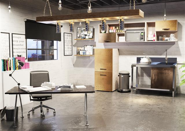 Contistahl Group   Products   Contistahl Kitchens   Stainless Steel   Retro  Office